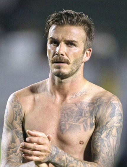 2013 David Beckham Hairstyle
