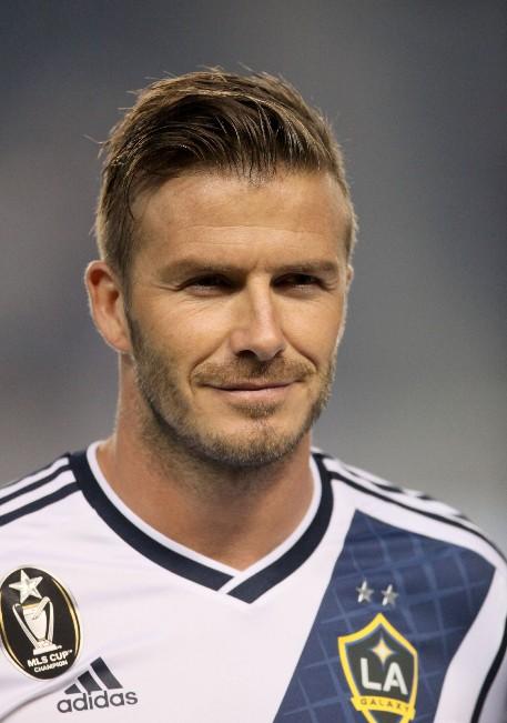 David Beckham Short Straight Haircut