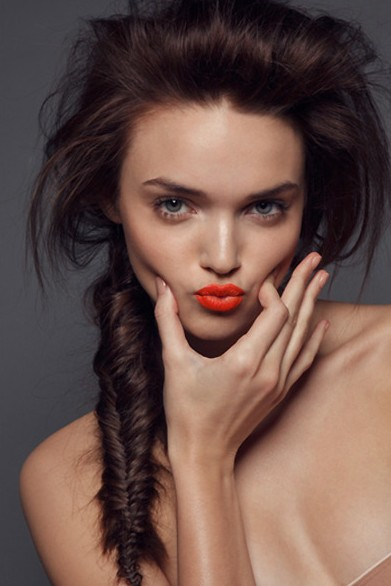 2013 Hairstyle Trends: Stylish French Fishtail Braid