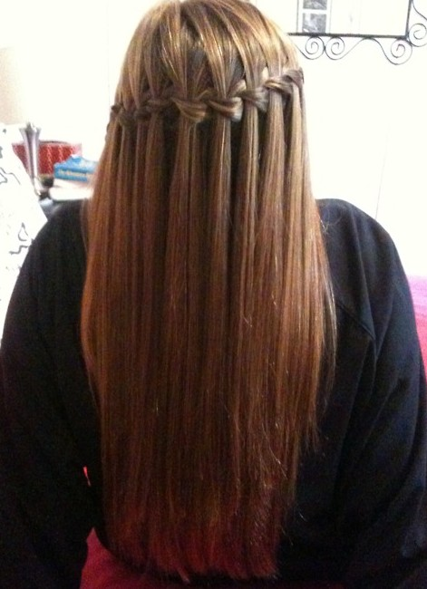 Waterfall Braid for Long Hair - 2013 - 2014 Braided Hairstyles for Summer