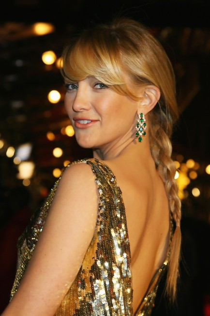 Kate Hudson Red Carpet Braided Hairstyles
