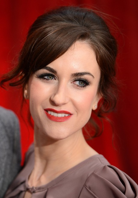 Katherine Kelly Red Carpet Hairstyles with Bangs for Women Over 30s