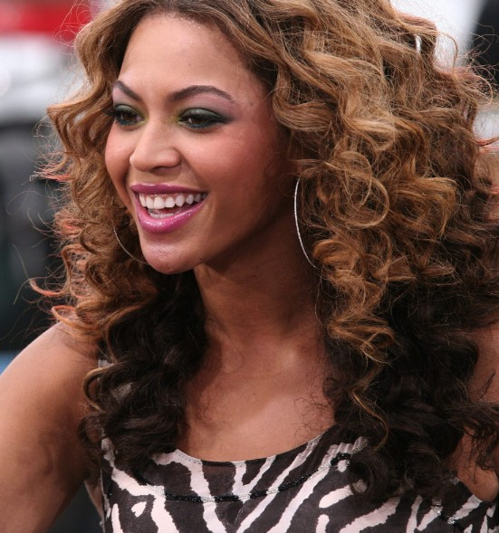 Beyonce Knowles Curly Ombre Hairstyle Hairstyles Weekly