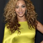 Beyonce Knowles Latest Curly Hairstyle