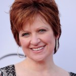 Caroline Manzo Layered Short Red Hairstyle for Women Over 50s