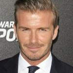 David Beckham Hairstyles 2013 : Formal Short Straight Haircut for Men