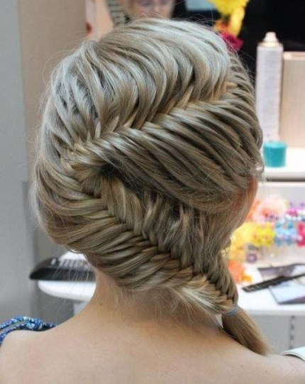 Hottest Hairstyles 2013 Fishtail Braid in Zig-Zag Formation