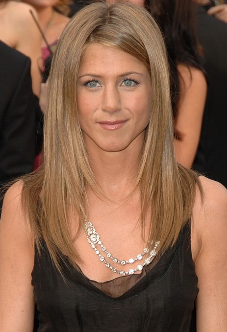 Jennifer Aniston Long Hair Styles: Sleek Hair!!!