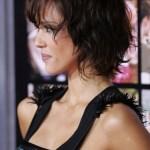 Side View of Jessica Alba Short Bob Haircuts