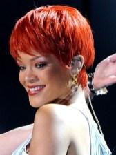 Rihanna Short Haircut: Red Pixie for Summer Days