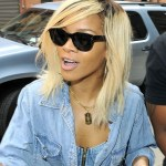 Rihanna Shoulder Length Straight Ombre Hair for Spring