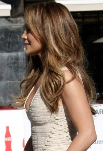 Side View of Jennifer Lopez Hairstyles