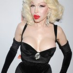 Amanda Lepore Short Curly Hairstyles