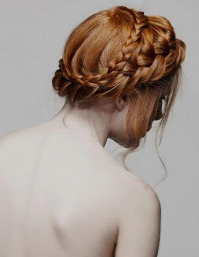 Beautiful Milkmaid Braids