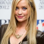 Laura Whitmore Cute Long Braided Hairstyle 2013