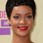 Rihanna Black Boy Cut for Women