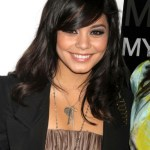 Vanessa Hudgens Medium Hairstyles with Bangs