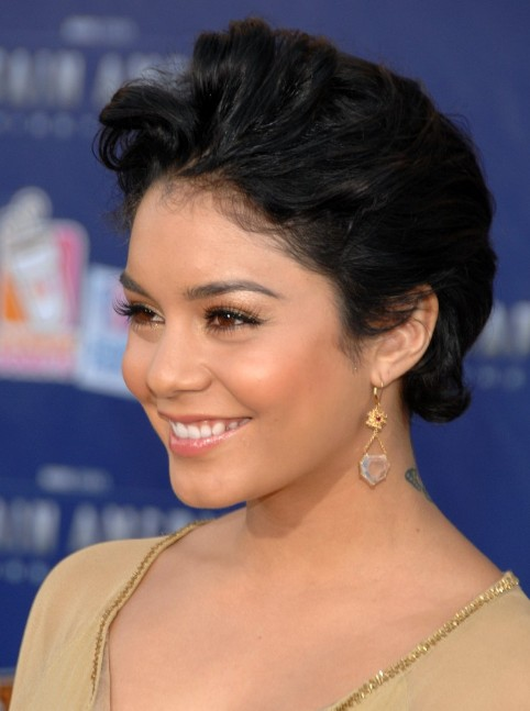 Vanessa Hudgens Updo For Homecoming Hairstyles Weekly