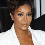 Vivica A Fox Spiky Razor Hairstyle