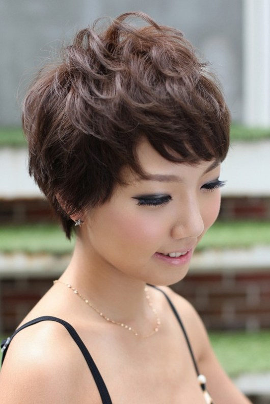 Pretty Pin Curl Pixie Cut Hairstyles Weekly