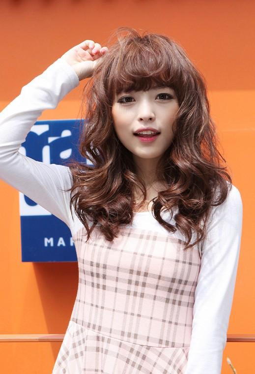 Cute Asian Long Hairstyles 2013