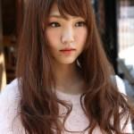 Cute Korean Girls Long Hairstyle