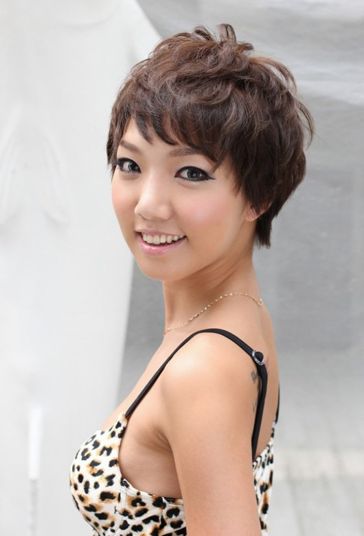 Feminine Layered Short Haircut for Women