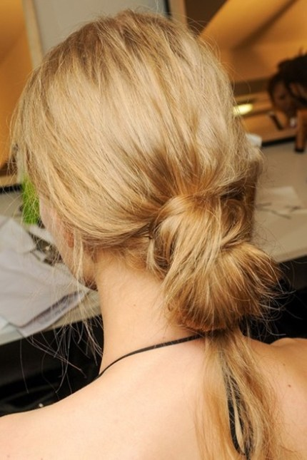 Knotted buns 2013