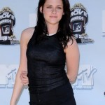 Kristen Stewart Long Dark Tousled Hairstyle