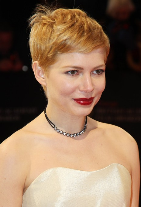 Michelle Williams Pixie Cut 2013