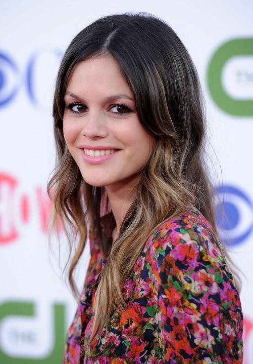 Rachel Bilson Cute Long Straight Ombre Hair