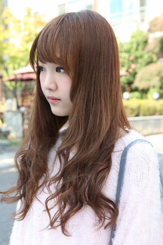Side View of Korean Hairstyles 2013