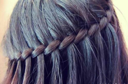Waterfall Braid for Black Hair