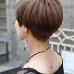 Back View of Cute Short Japanese Haircut - Back View of Bowl (Mushroom) Haircut