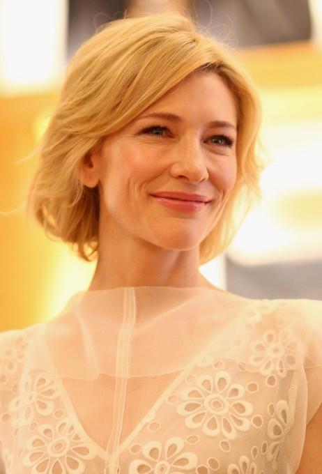Cate Blanchett Short Blonde Bob Hairstyle