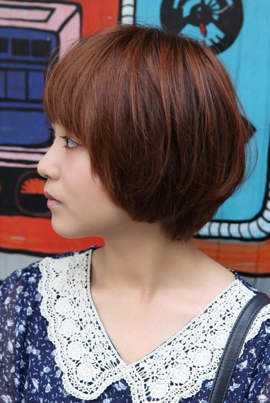 Cute Korean Bob Hairstyle Perfect Summer Hairstyle