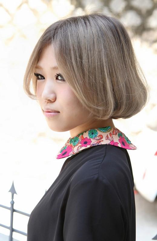 Cute Short Asian Bob Haircut 2013