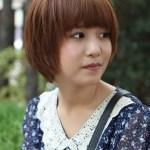 Cute Short Korean Bob Hairstyle- Asian Hairstyles 2013 - 2014