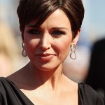 Dannii Minogue Layered Short Hairstyles for Women Over 40