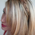 Simple Easy Daily Hairstyle: Fishtail Headband Braid