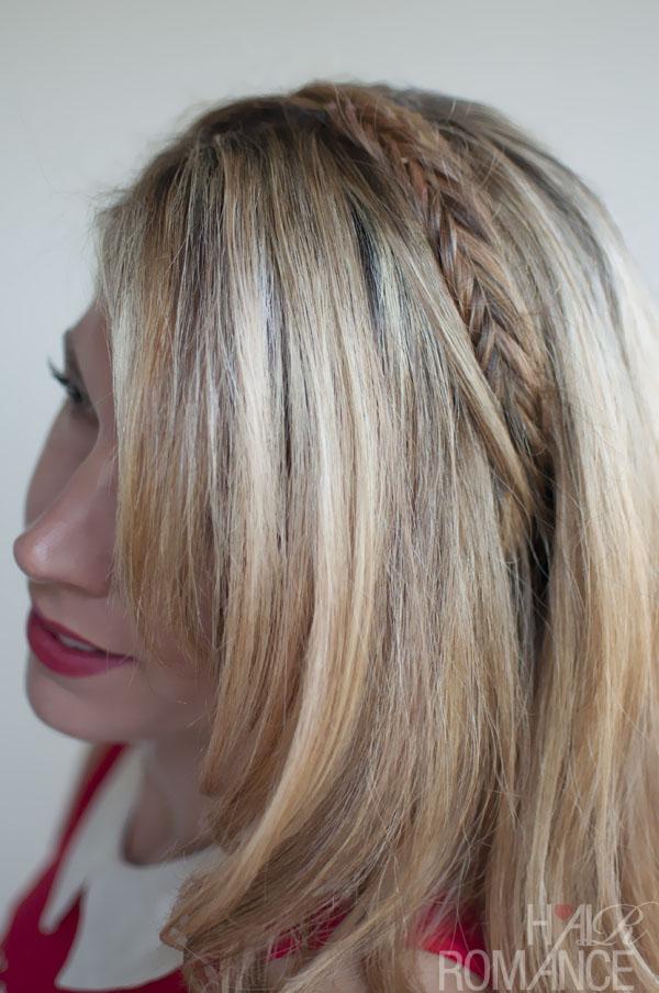 Simple Easy Daily Hairstyle: Fishtail Headband Braid