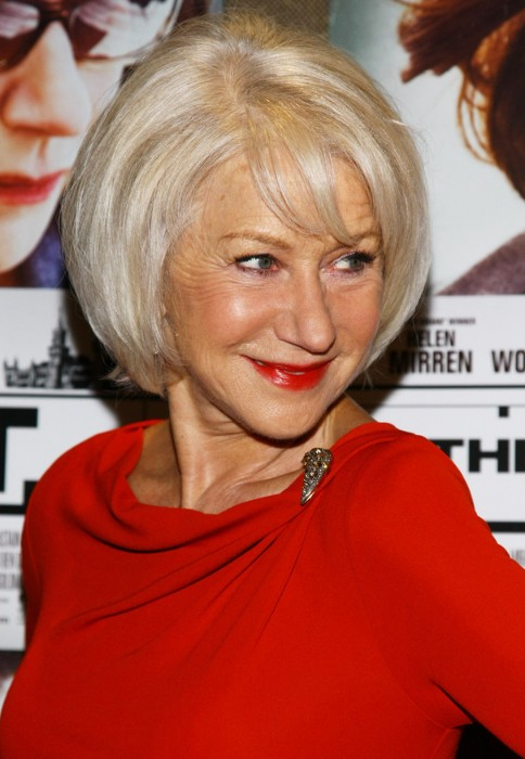 Short Bob Haircut for Women Over 60s