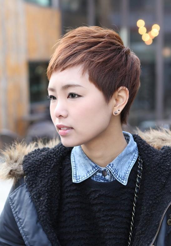 Sharp Amp Sexy Rihanna Pixie Cut Boyish Asian Haircut