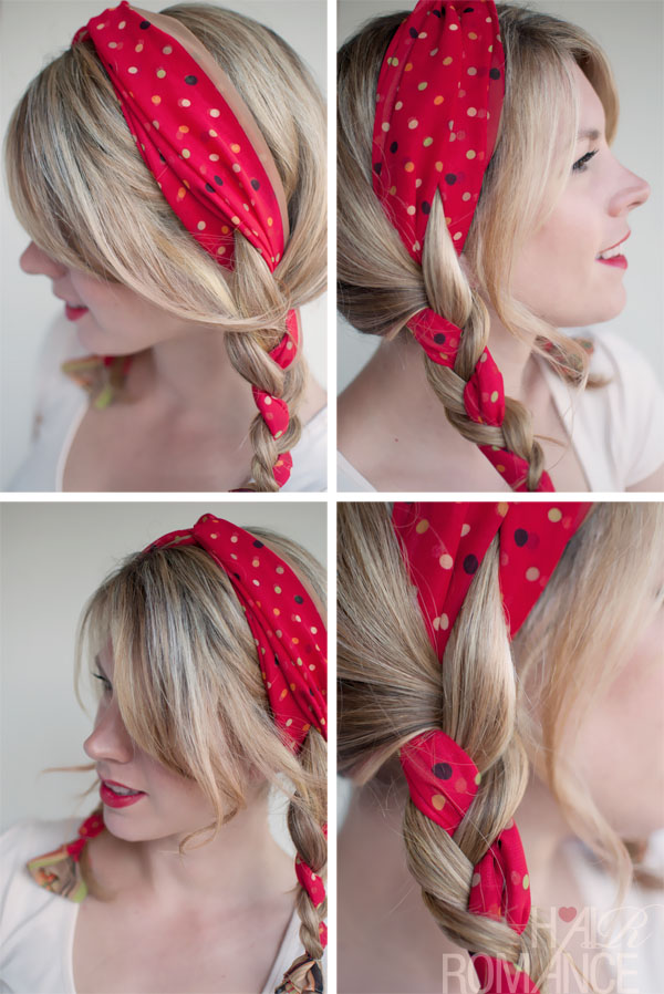Simple Easy Braided Daily Hairstyle - Pigtails