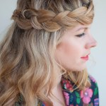 The Crown Carousel Braid for Long Hair