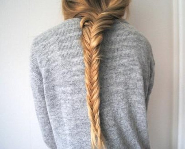 Casual Boho Herring-bone Braid for long hair