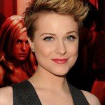 Evan Rachel Wood Short Stylish Pixie Haircut