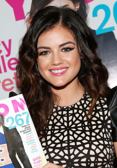 Luscious Locks Full Of Bouncy Curls From Lucy Hale