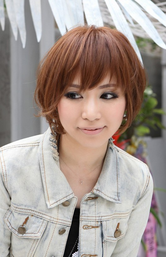 Short Red Haircut for Women