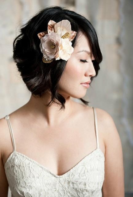 Short Sassy Wedding Hairstyles